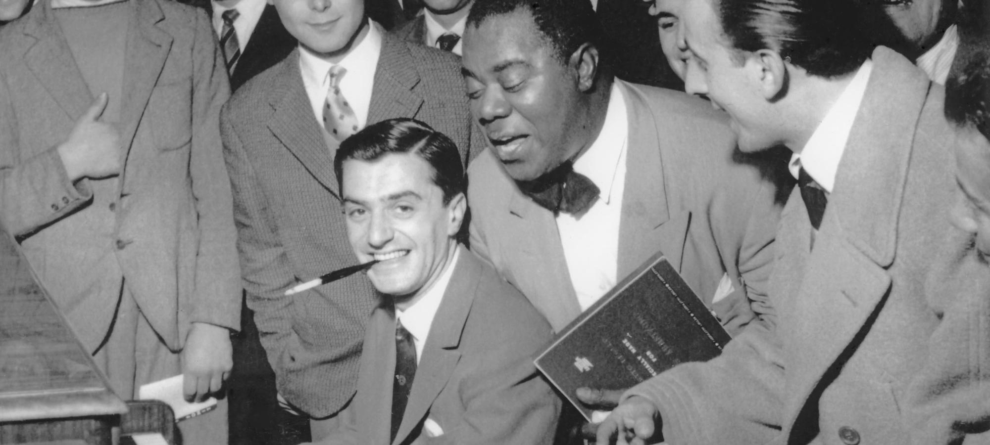 Lelio Luttazzi e Louis Armstrong